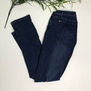 J Jill Slim Boyfriend Jeans Size 6Tall Straight for sale